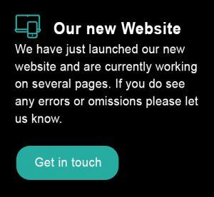 new website notice